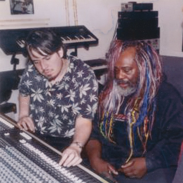 TBT to me working with George Clinton