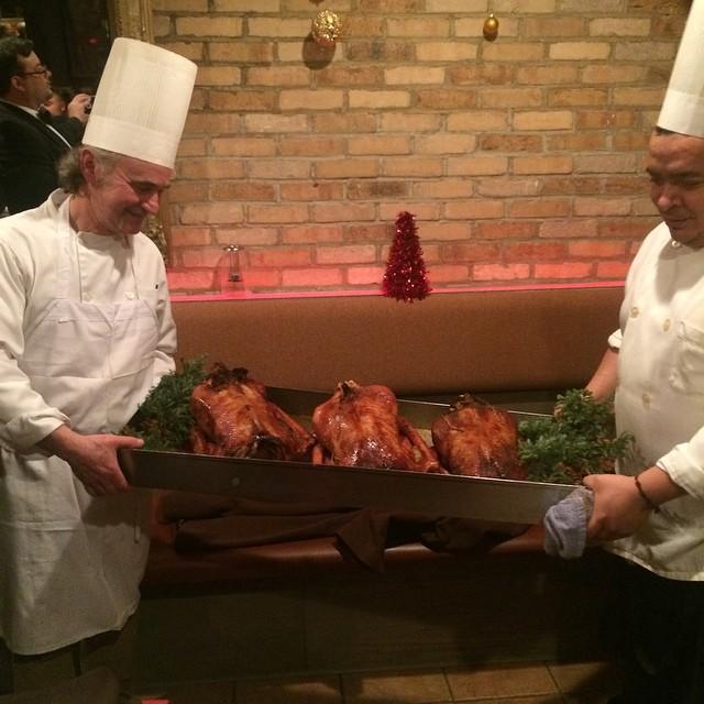 Xmas Goose Diner (at Cyrano's Farm Kitchen)