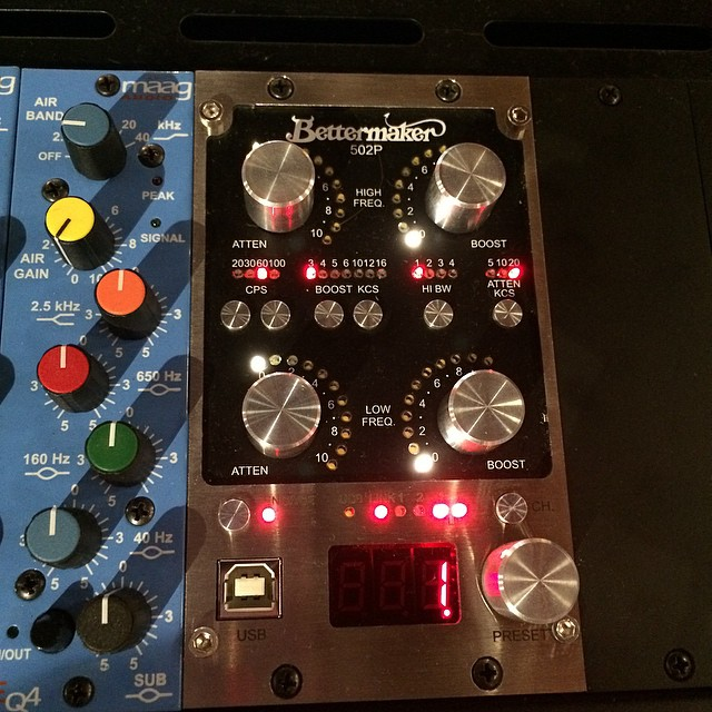 New Gear Alert NEW mastering EQ the BetterMaker