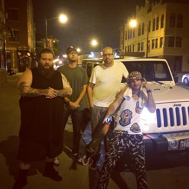Strictly for my Jeep with Riff Raff, Bronson & RTC