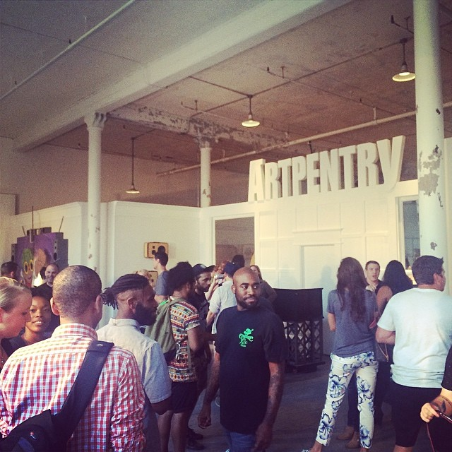 Awesome new space congrats @artpentry support Chicago industry (at arpentry)