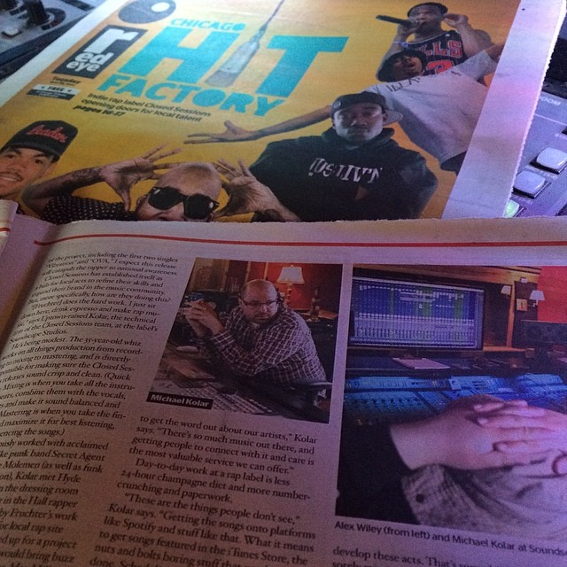 Check out the @redeyechicago cover story today for a great read about cool things I do (at Star Lounge)