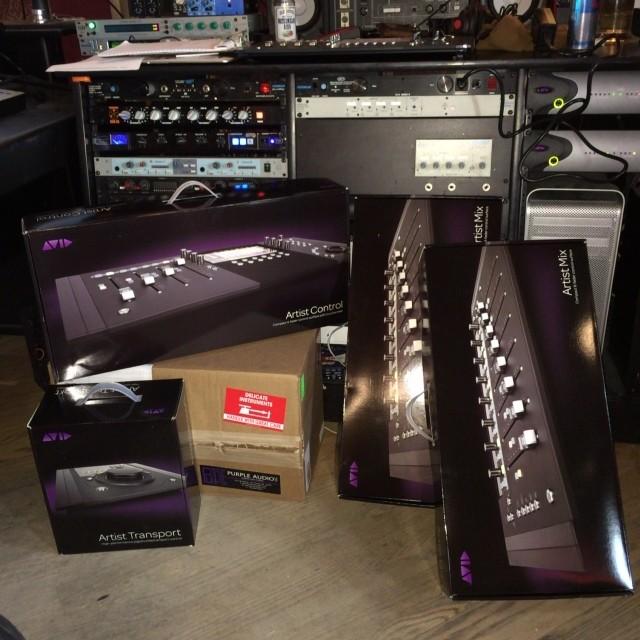 New Gear Alert! Avid & Purple Audio