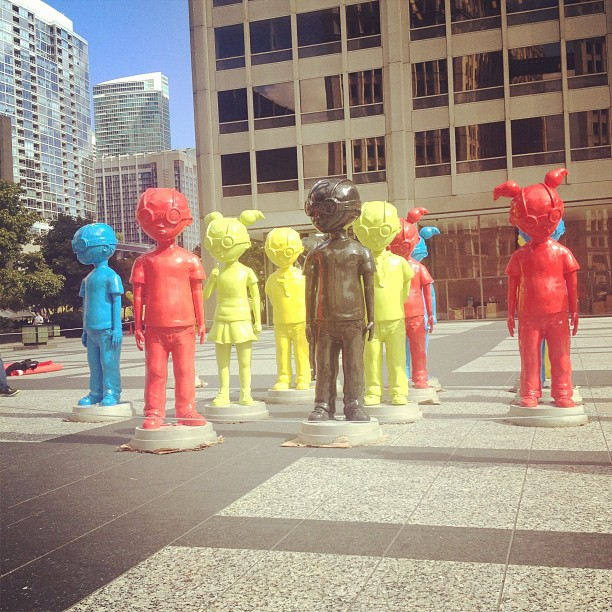 Chicago Art (at 401 N Michigan)