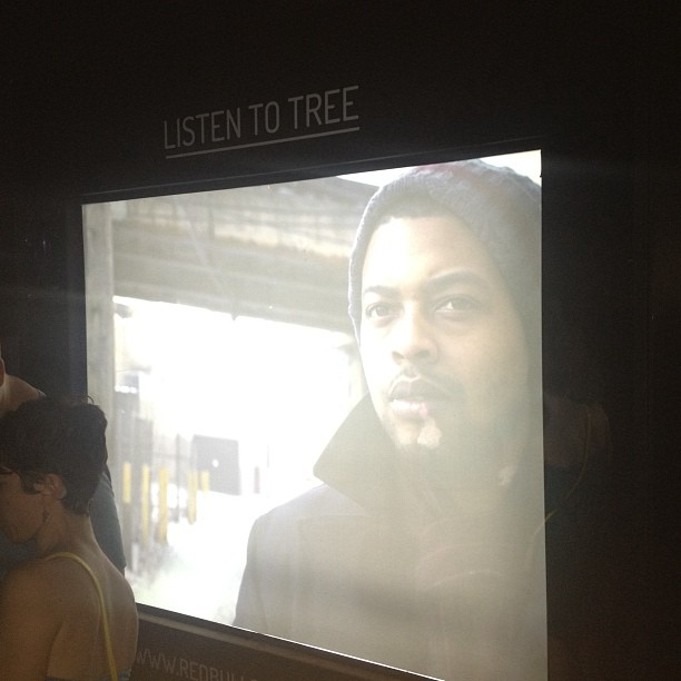 My man @mctreeg on the Redbull screen Pitchfork (at Pitchfork Music Festival)