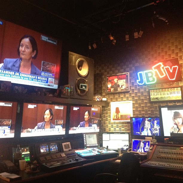 Over at @jbtvstudio today (at JBTV)