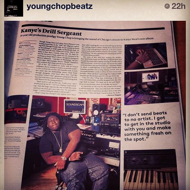 Regram of @youngchopbeatz check us out in Billboard Mag this week (at Sofitel Santa Clara)