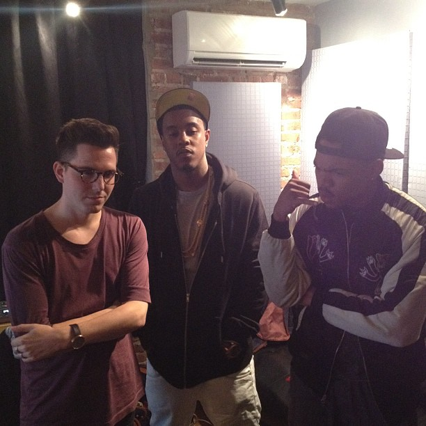 Chance the Rapper X Purity Ring X Jeremih session