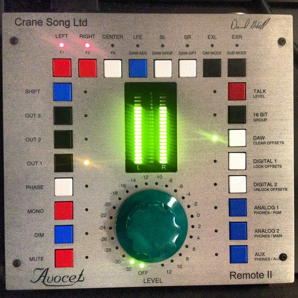 My volume knob costs more than most studios. Crane Song Avocet