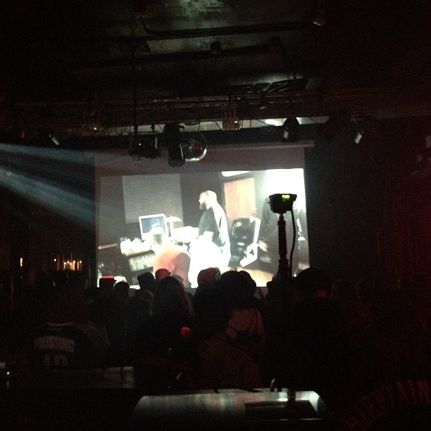 Screening the @closedsessions @bambambaklava documentary (at Double Door)