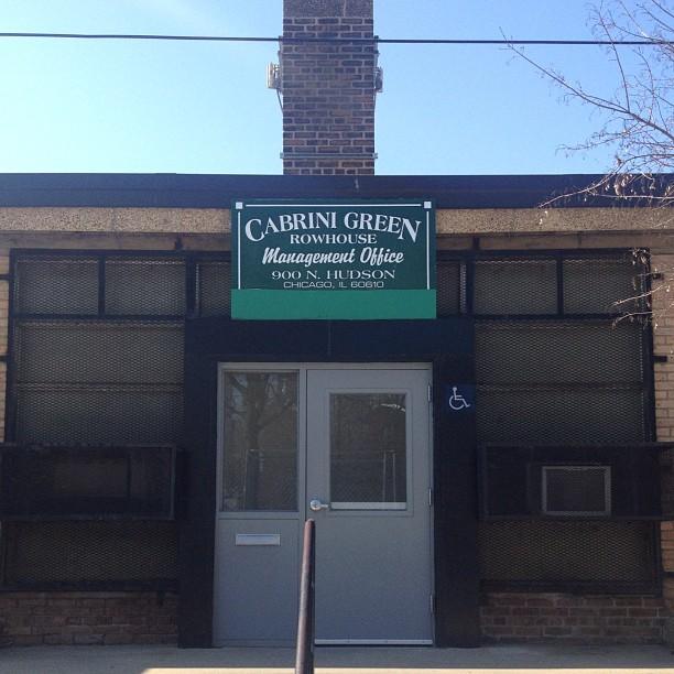 The last trace of Cabrini Green