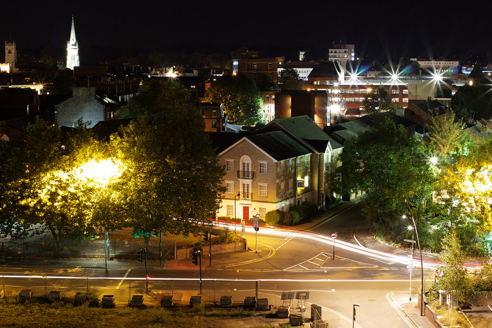 Ipswich By Night