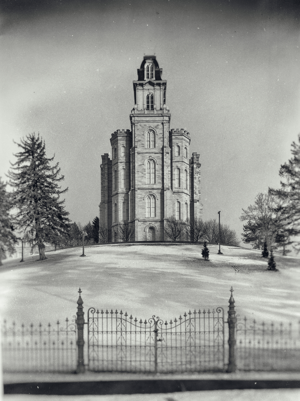 Manti, Utah Temple. Dedicated May 1888.