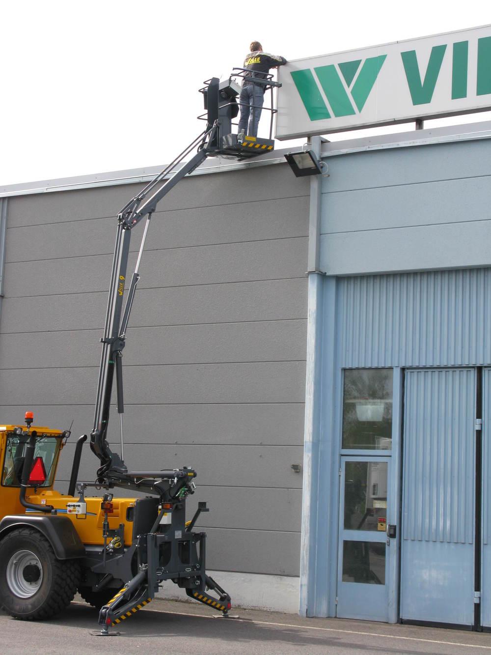 Wille skylift 9 i arbete