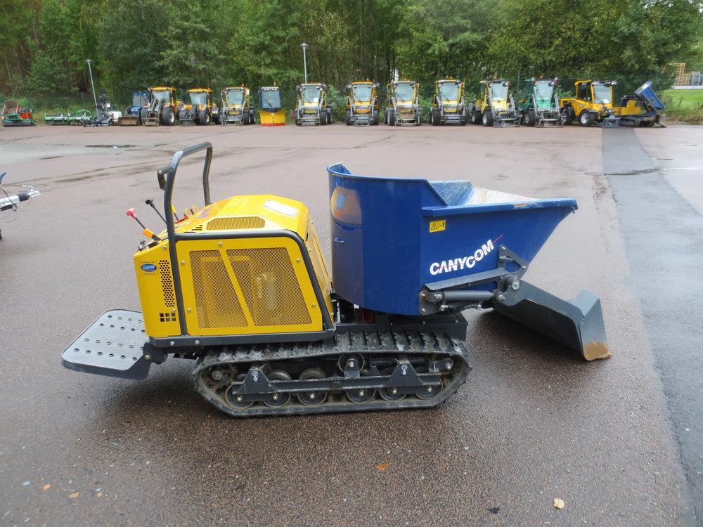 750 kg dumper