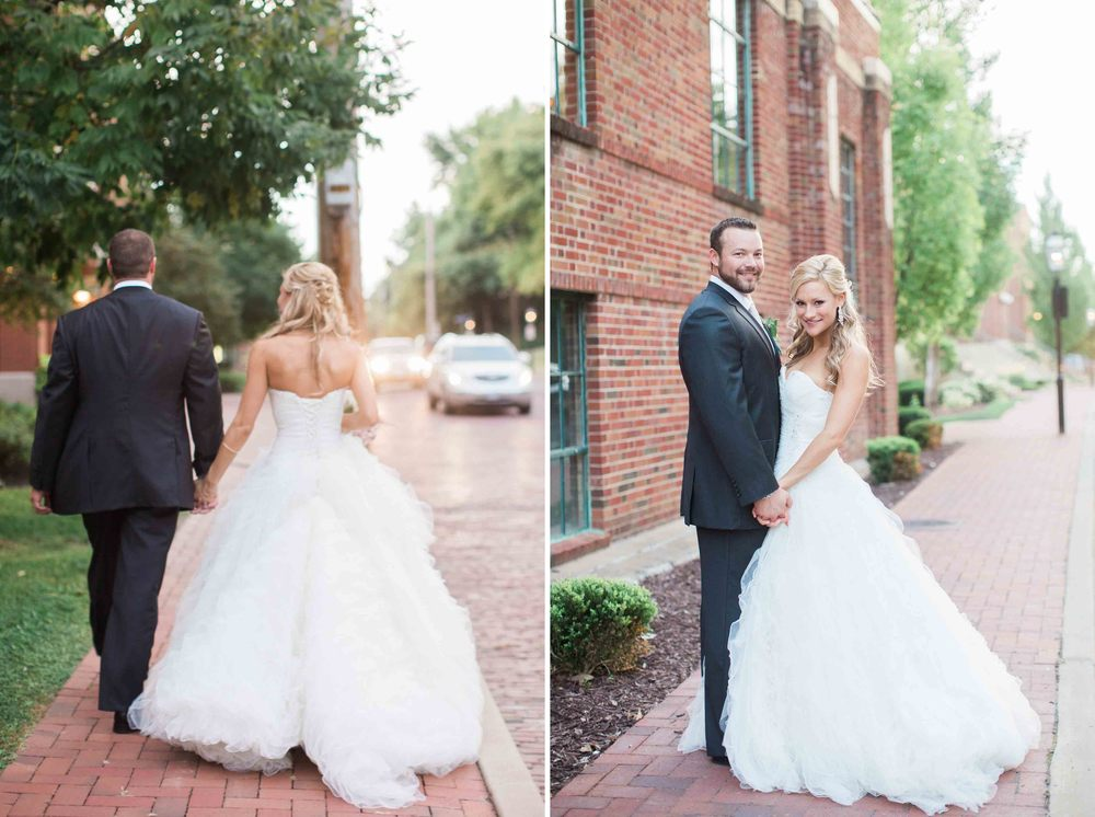 Lauren And Jonathans Old Stone Chapel St Charles Wedding St