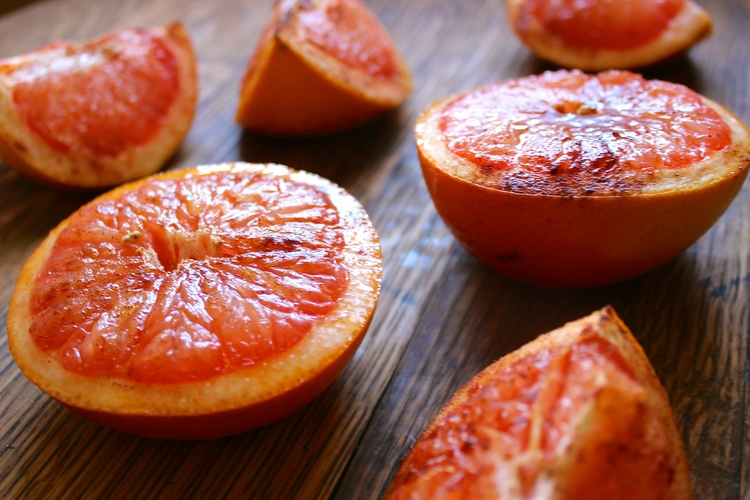 Oven-Roasted Grapefruit | Most Popular in December! sweetdisasters.com