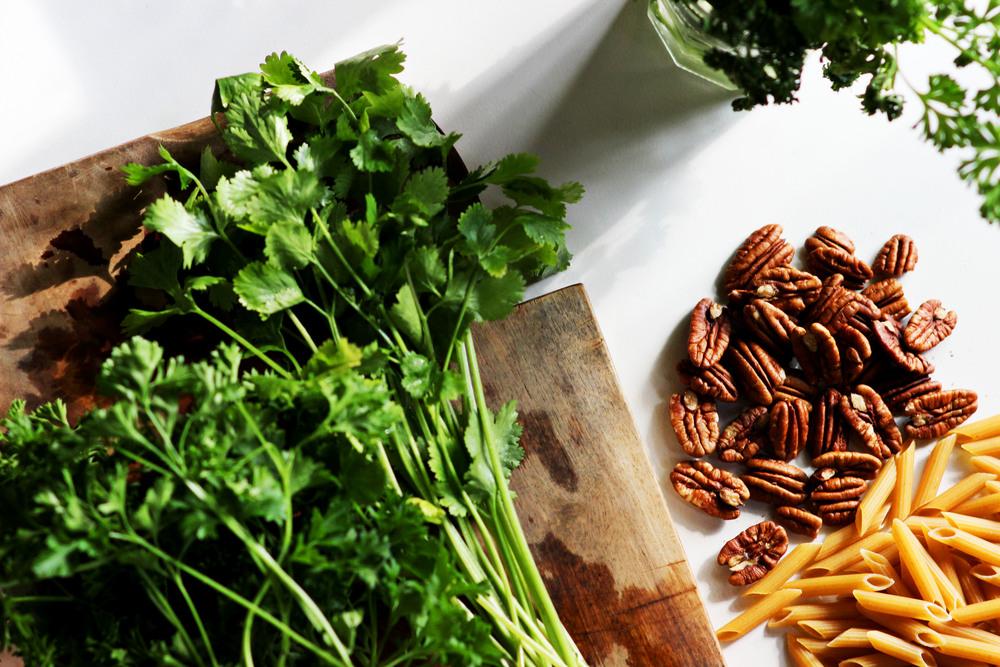 Pecan Herb Pasta