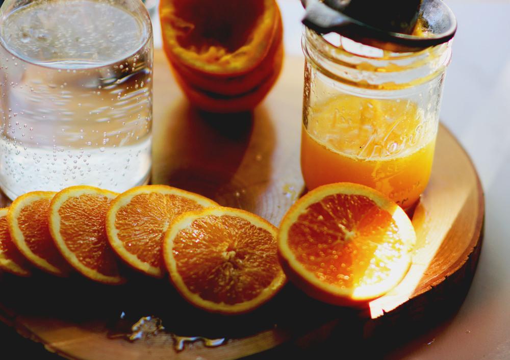 Orange Pellegrino