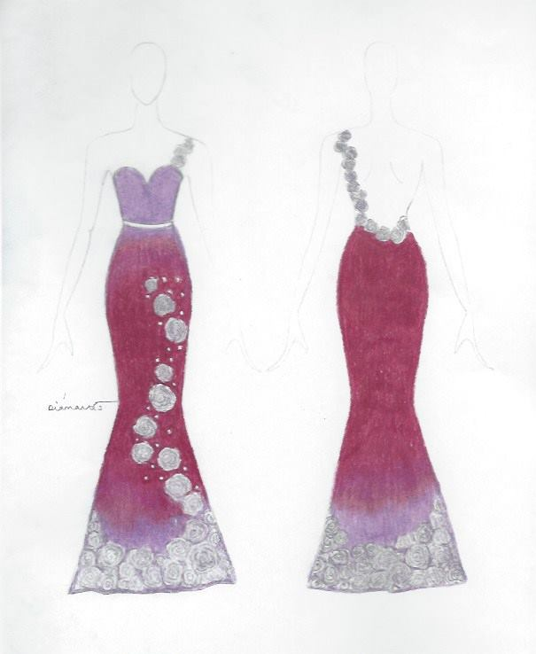 2015 prom dress design competition � runway on the runway