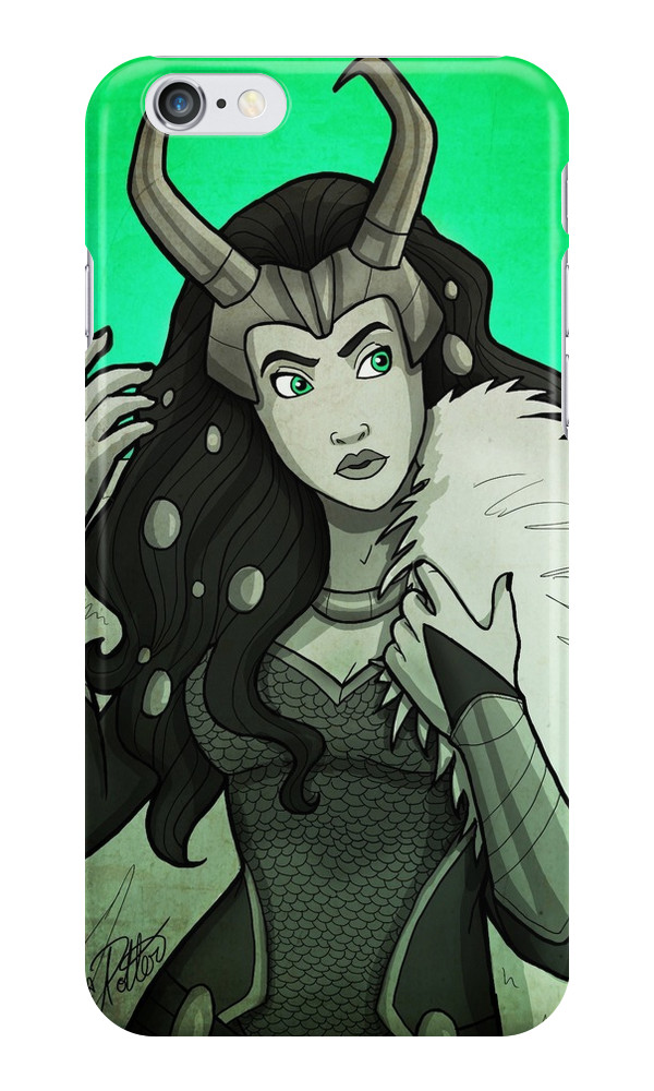 """Lady Loki"" causing mischief on your phone."