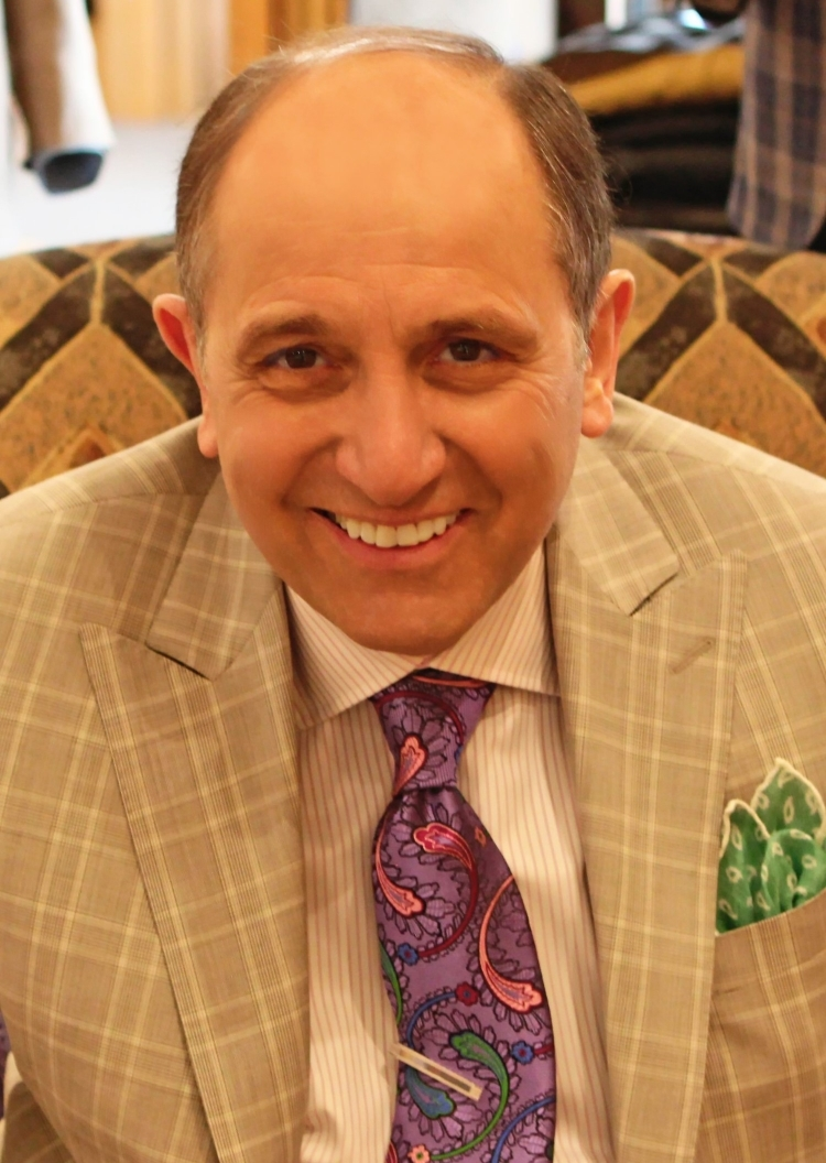 Founder and Owner of Rossi Clothiers - Charlie Rossi