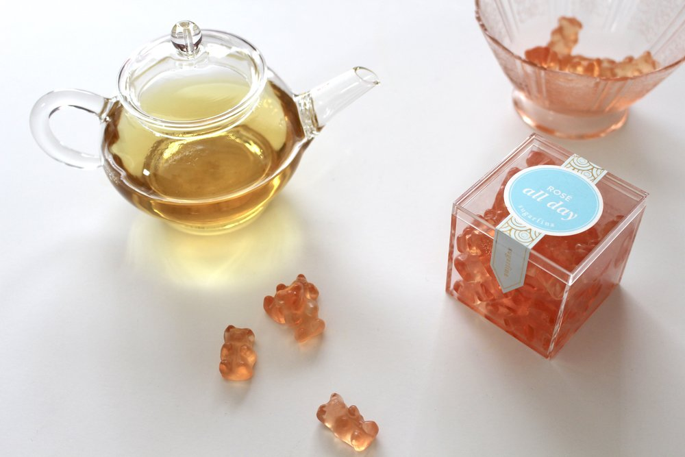 lily sugarfina rose bears
