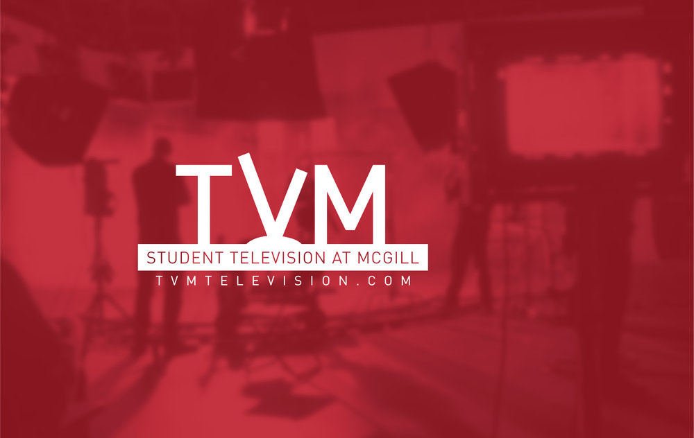 tvm: student television at mcgill - LOGO DESIGN // August 2014