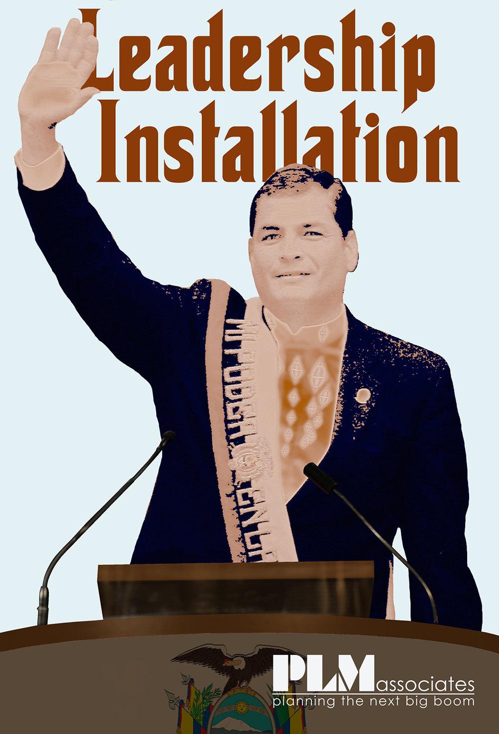 Leadership installaiton