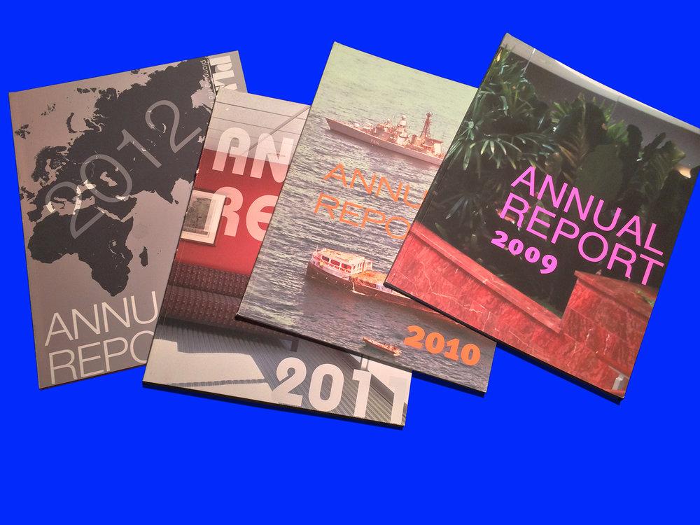 PLMA annual reports