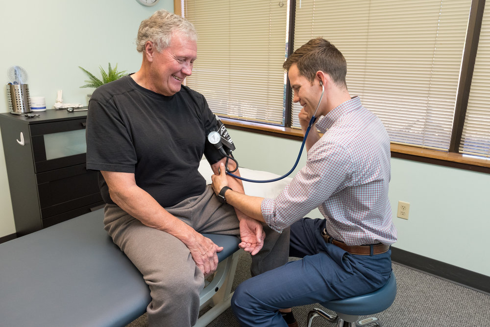 Work with a doctor of physical therapy