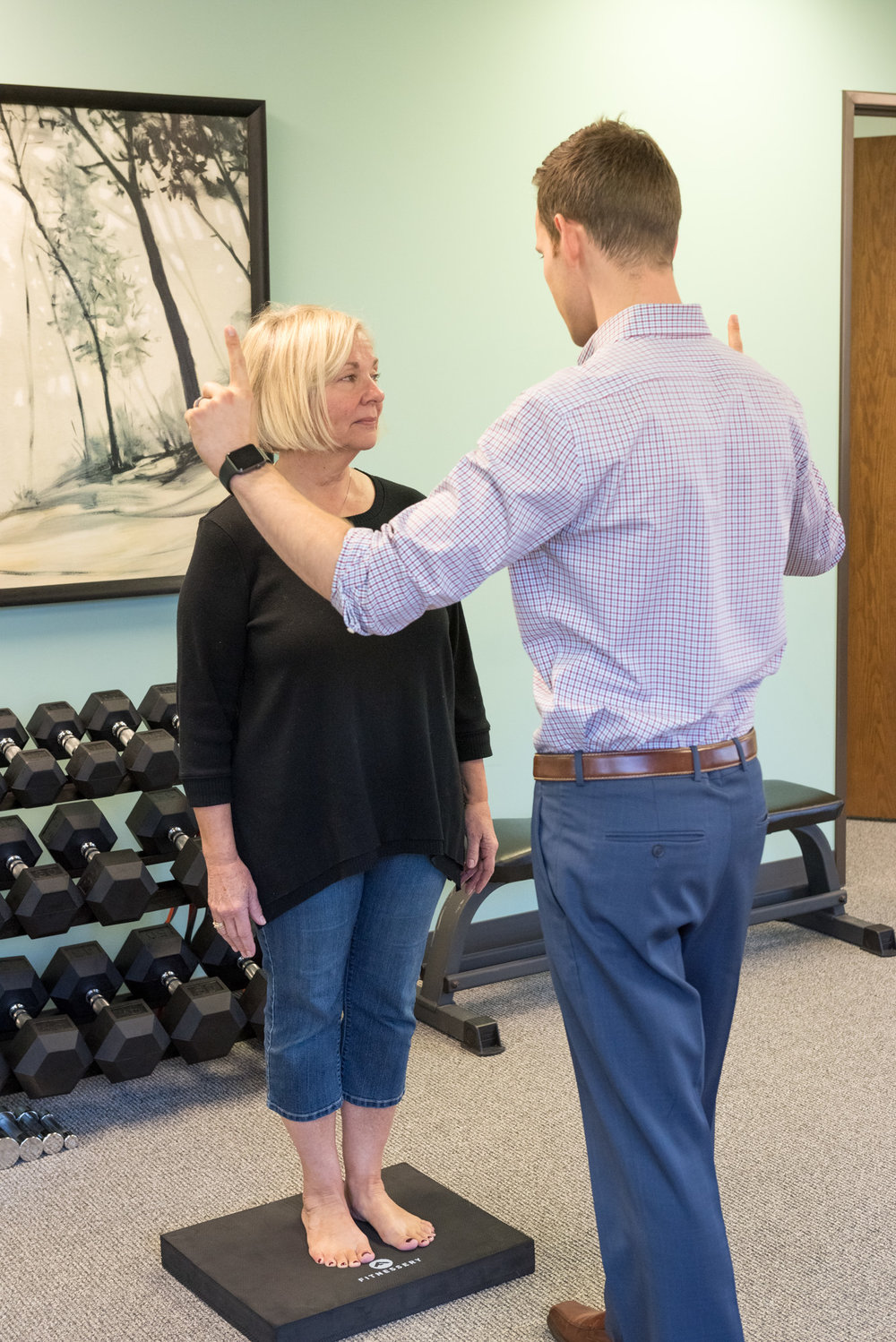 Whole body health physical therapy dizziness and balance