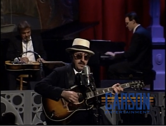 Tom Roberts on piano with Leon Redbone on The Tonight Show Starring Johnny Carson