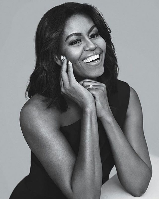Happiest 53rd Birthday to our first lady @michelleobama Isn't her skin flawless?