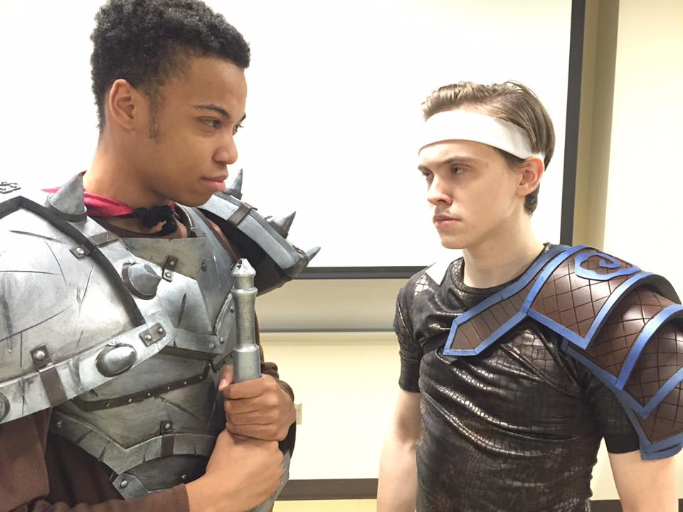 Preview of Grim and Storm in armor. Dye that hair, boys!