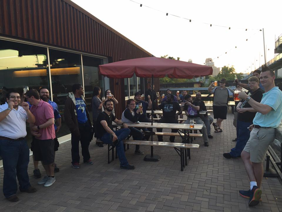San Antonio's game society (and beer enthusiasts)