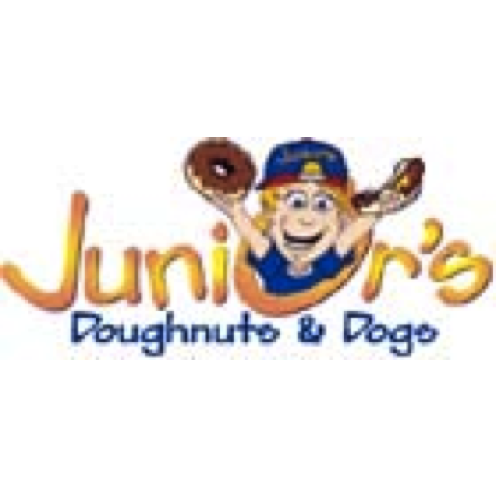 Junior's Doughnuts & Dogs Great hotdogs, fresh made doughnuts, chicken, ice cream & more. 9315 Amherst Ave 609.823.890