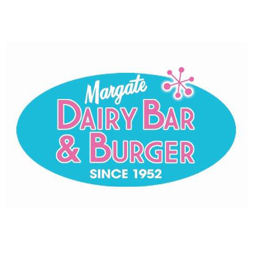 Margate Dairy Bar & Burger Ice-cream, water-ice, soft serve, yogurt, burger, fries ,shakes. Since 1952.  9510 Ventnor Ave 609.822.9559