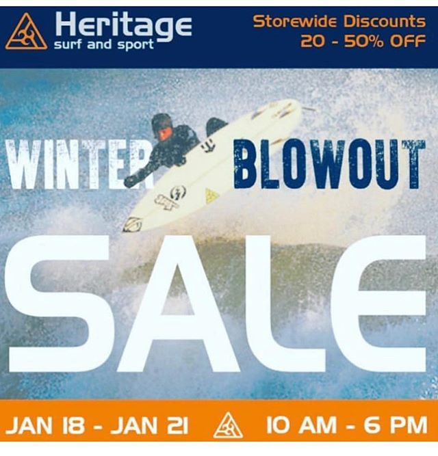 Sharing for our member @heritagesurfmgt! Another big sale is about to hit the island. Shop Local! Support Small!