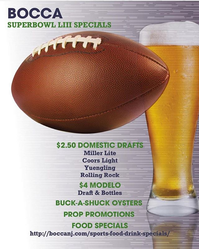 Where will you be watching the big game?! @boccanj