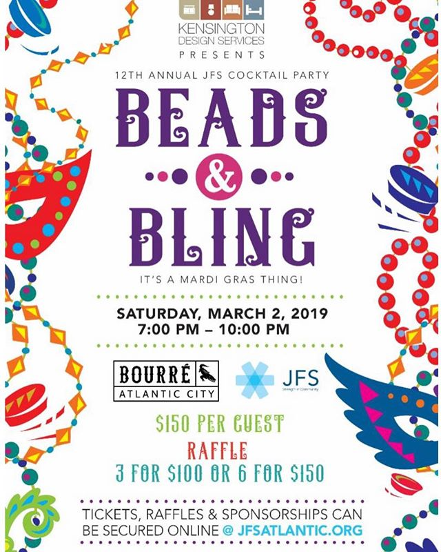 Always such a fun event! Visit @jfsatlantic for more info and purchase tickets and raffles today!