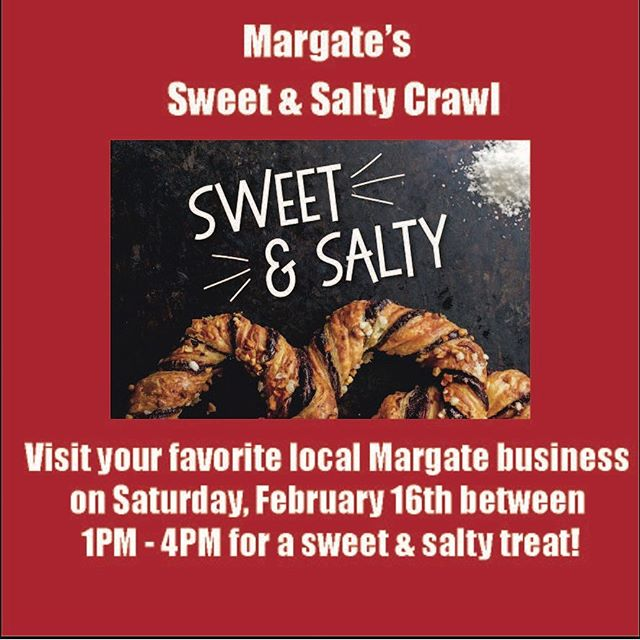 🍬 🥨 TOMORROW! 🥯 🍫 Visit our Facebook for the list of businesses participating or check out what's Happening @ www.margatehasmore.com