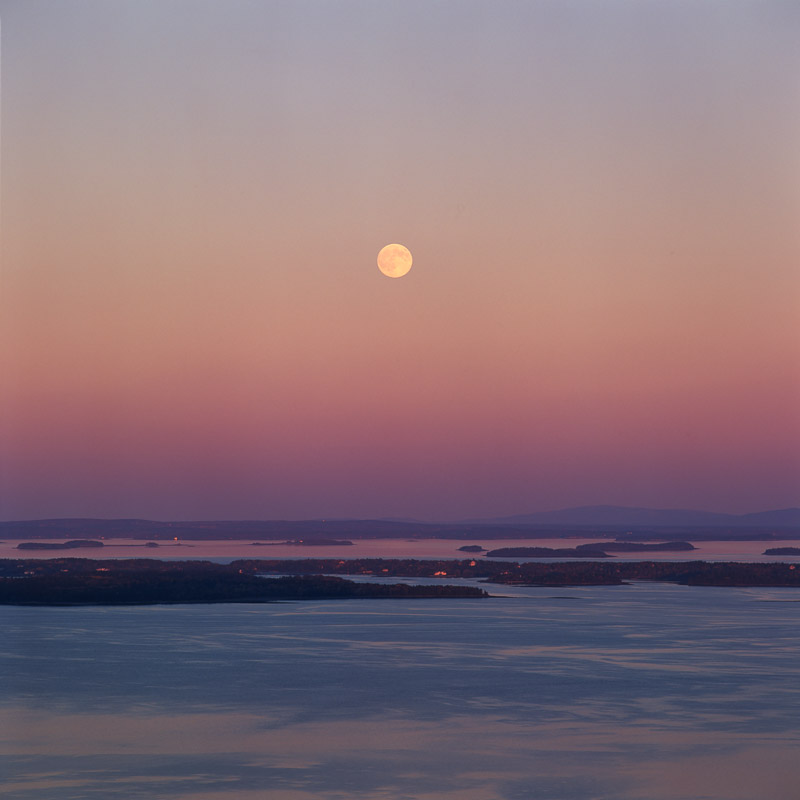 Moonrise, Penobscot Bay