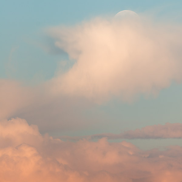 """Dog Days Moon I"", Copyright Jim Nickelson. All Rights Reserved."