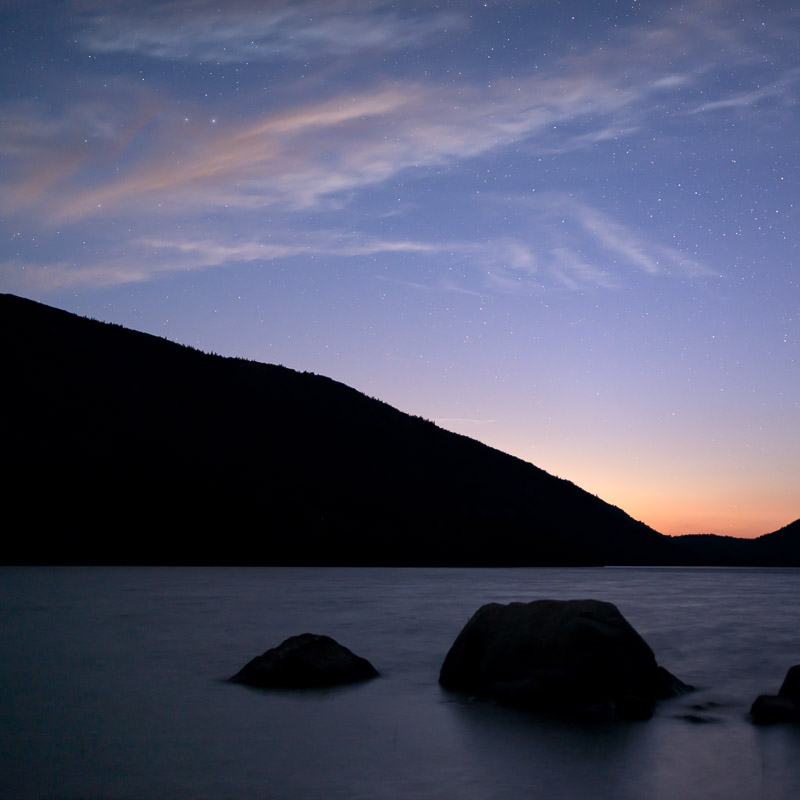 Nightfall, Jordan Pond