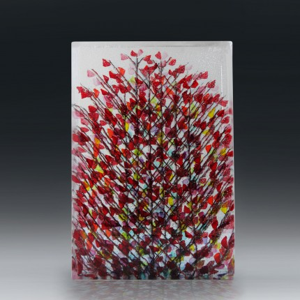 Emma Varga, Ada - November # 1, 2014, fused, cast & polished glass, 36 x 24 x 6 cm