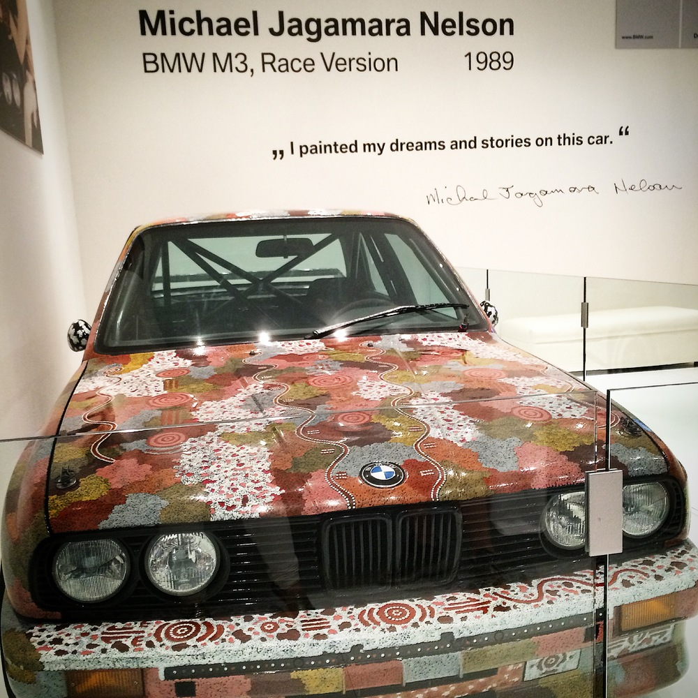 Every year, Art Basel Miami Beach features an extravagantly transformed exotic car. This year, we congratulate the choice to address the past, and past glory. And, I think, every artist I know, could say this about their work. Only available to guests at the Collector's Lounge.