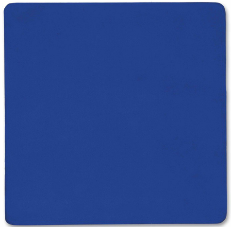 Yves Klein,  Untitled Blue Monochrome (IKB 108) . Image: Courtesy of Christie's