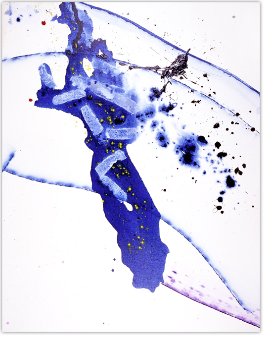 Sam Francis (1923-2010). Untitled (SFP study2), 1990. Acrylic on canvas, 170 x 134,5 cm.