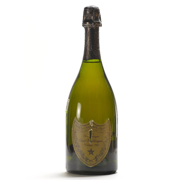 Lot 4399, 2 bottles of 1980 Chateau Moet et Chandon Dom Perignon, Henry's Auktionshaus (December 3)